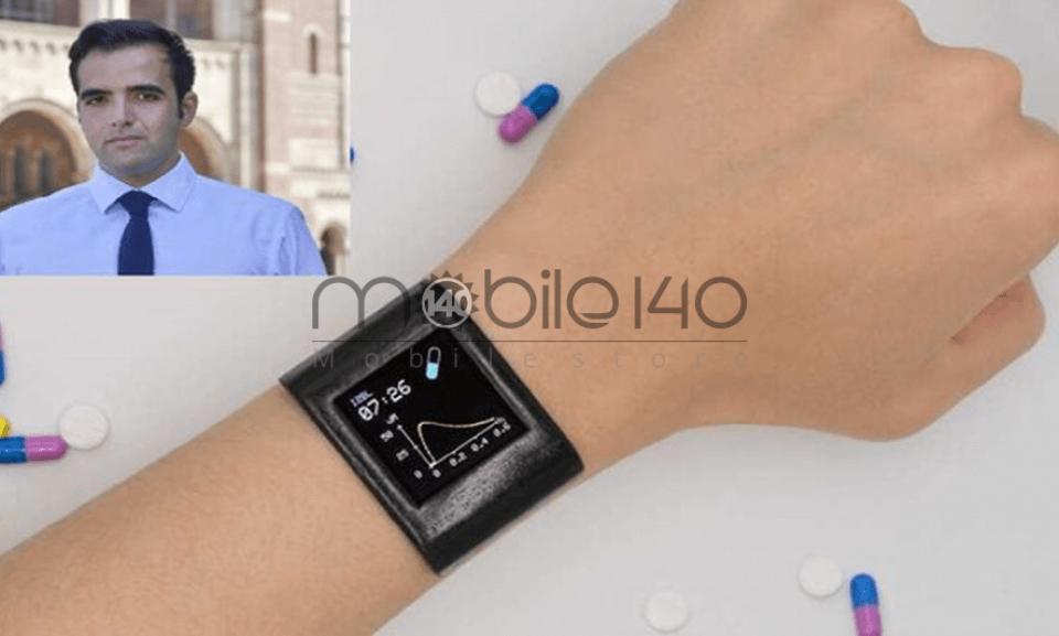 یک ایرانی موفق به ساخت ساعت هوشمندی شد که میتواند داروها را در بدن ردیابی کند
