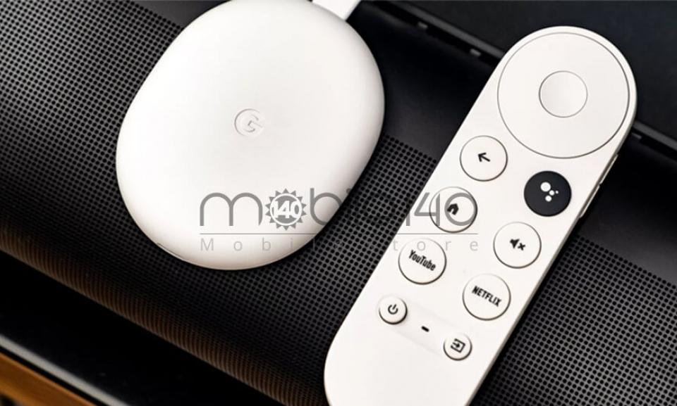 کروم کست جدید با ریموت کنترل و پلتفرم (Google tv) رونمایی شد.