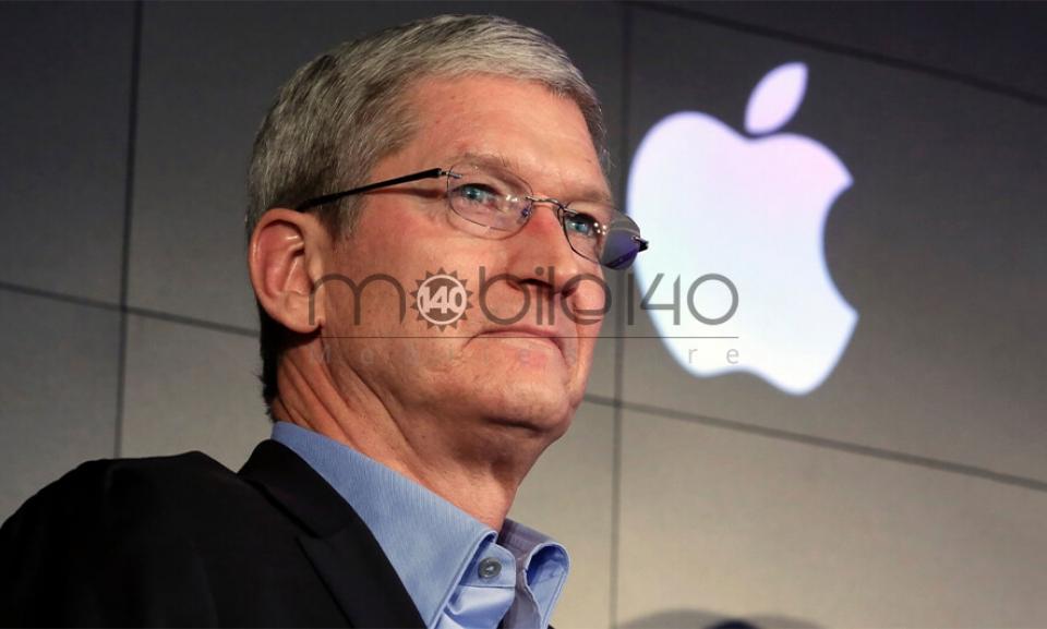 114 میلیون دلار از سهام اپل به تیم کوک تعلق گرفت