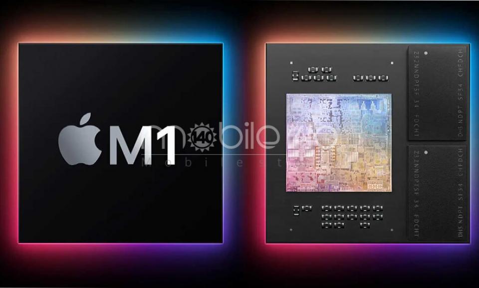 اپل تراشه M1 با لیتوگرافی 5 نانومتری را معرفی کرد