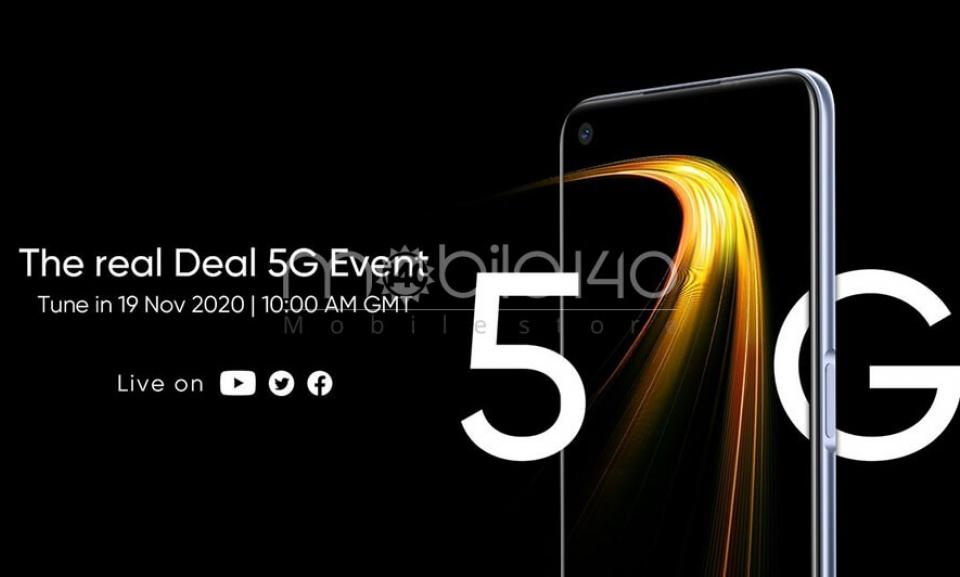 Realme 7 5G در تاریخ 29 آبان عرضه می شود