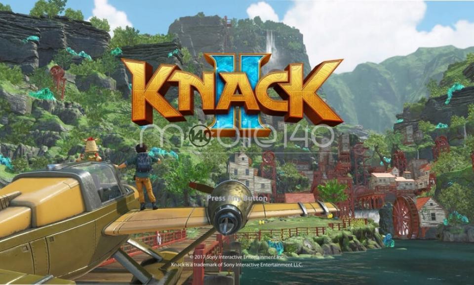 رونمایی از بازی Knack با ورژن جدید