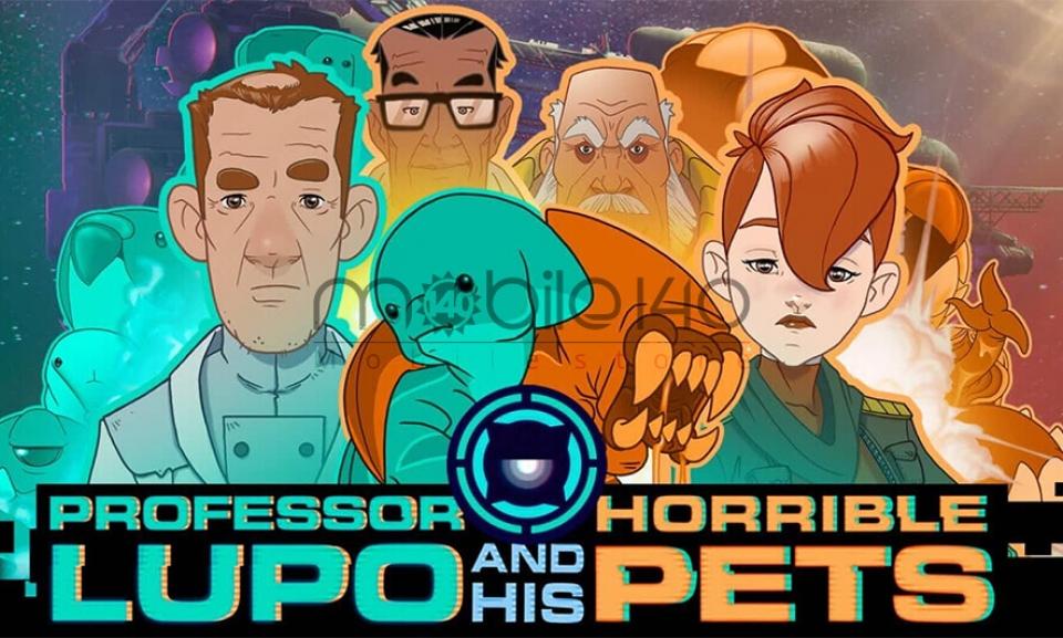 رونمایی از بازی جذاب professor Lupo