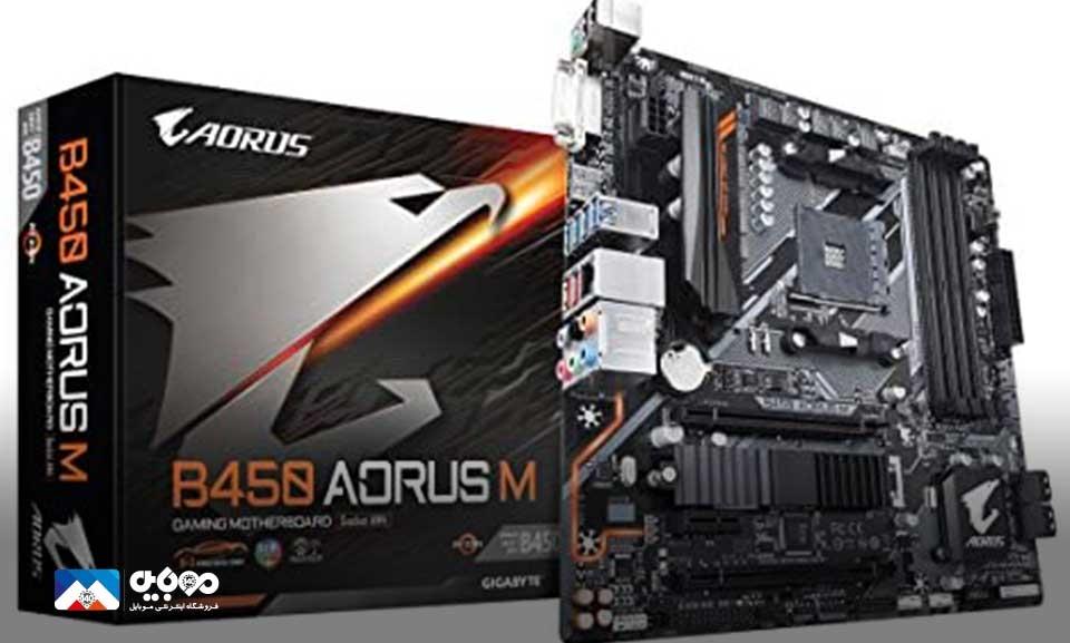 آغاز تولید مادربرد اختصاصی AMD B450 در روسیه