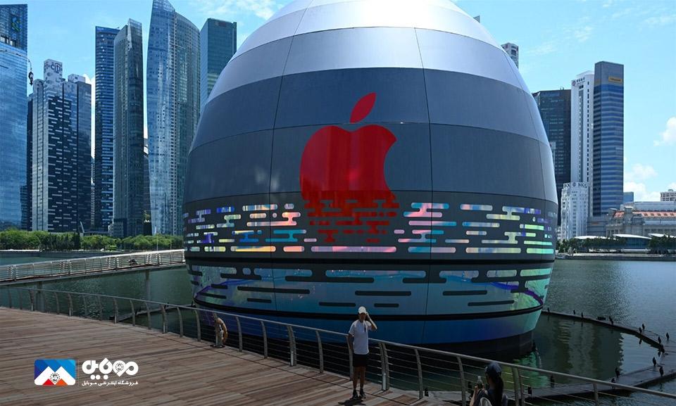 تعداد فروشگاه خردهفروشی اپل افزایش پیدا میکند