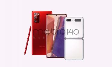 گلکسی نوت 20 5G و گلکسی زد فیلیپ 5G در رنگهای جدید عرضه میشوند