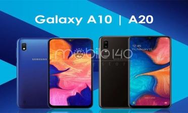 مقایسه گوشی A10 با A20