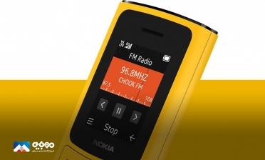 نوکیا از گوشیهایNokia 110 4G و  Nakia 105 4G رونمایی کرد