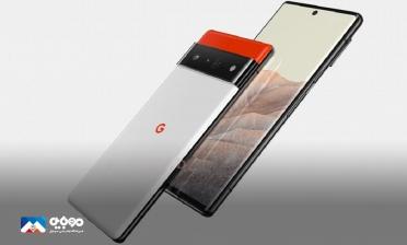 عرضه قاب گوشی پیکسل 6 گوگل باطراحی جدید