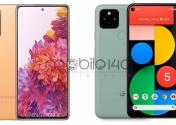 مقایسه دو گوشی Google Pixle 5 وSamsung S20 FE