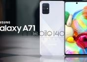 Samsung Galaxy A71 به روزرسانی One UI 2.5 را دریافت می کند