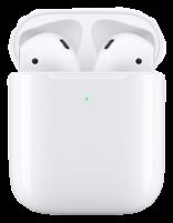 هدفون بی سیم اپل مدل AirPods 2 همراه با محفظه شارژ بیسیم