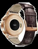 ساعت هوشمند هواوی مدل Steel Case With Brown Suture Leather Strap