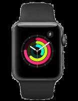 ساعت هوشمند اپل واچ مدل 38mm اسپیس گری آلمینیوم با بند اسپورت