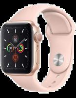 ساعت هوشمند اپل واچ سری 5 مدل 44mmگولد آلمینیوم پینک با بند اسپورت