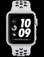 ساعت هوشمند اپل واچ سری 3 مدل نایک پلاس آلمینیوم با بند اسپرت