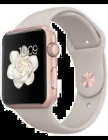 ساعت مچی هوشمند اپل واچ مدل 42mmرز گلد آلمینیوم استون اسپورت بند
