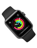 ساعت هوشمند اپل واچ 3 مدل 42mm اسپیس گری آلمینیوم اسپورت باند
