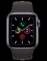 ساعت هوشمند اپل واچ سری 5 با بند مشکی اسپرت