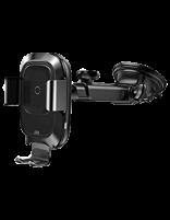 پایه نگهدارنده و شارژ بی سیم داخل خودرو بیسوس مدل Smart Vehicle