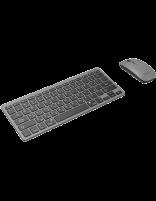 ماوس و کیبورد بیسیم پورودو مدل PD-BTKBMCO-GY Super Slim & Portable