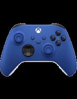 دسته بازی بیسیم مایکروسافت ایکسباکس سری اس و ایکس مدل Shock Blue