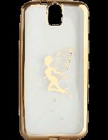 کاور نگین دار یونیک مدل پروانه مخصوص گوشی اچ تی سی E9