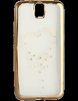 کاور نگین دار یونیک مدل قلب مخصوص گوشی اچ تی سی E9