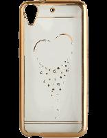کاور نگین دار یونیک مدل قلب مخصوص گوشی اچ تی سی D626