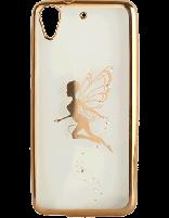 کاور نگین دار یونیک مدل پروانه مخصوص گوشی اچ تی سی D626