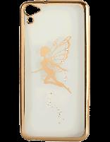 کاور نگین دار یونیک مدل پروانه مخصوص گوشی اچ تی سی D728