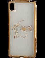 کاور نگیندار یونیک مدل چهره مخصوص گوشی سونی Xperia Z4