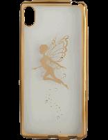 کاور نگیندار یونیک مدل پروانه مخصوص گوشی سونی Xperia Z4
