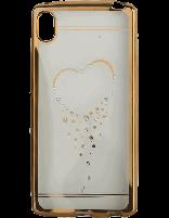 کاور نگیندار یونیک مدل قلب مخصوص گوشی سونی Xperia Z4