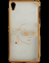 کاور نگیندار یونیک مدل چهره مخصوص گوشی سونی Xperia Z2