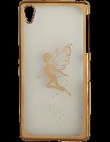 کاور نگیندار یونیک مدل پروانه مخصوص گوشی سونی Xperia Z2