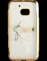 کاور نگین دار یونیک مدل چهره مخصوص گوشی اچ تی سی M10