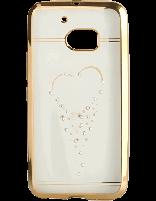 کاور نگین دار یونیک مدل قلب مخصوص گوشی اچ تی سی  M10