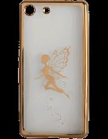 کاور نگیندار یونیک مدل پروانه مخصوص گوشی سونی Xperia M5