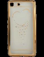 کاور نگیندار یونیک مدل قلب مخصوص گوشی سونی Xperia M5