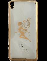 کاور نگیندار یونیک مدل پروانه مخصوص گوشی سونی Xperia XA Ultra