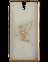 کاور نگیندار یونیک مدل پروانه مخصوص گوشی سونی Xperia C5