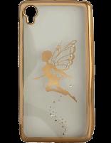 کاور نگیندار یونیک مدل پروانه مخصوص گوشی سونی Xperia X