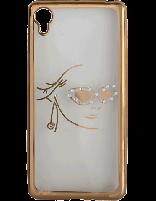 کاور نگیندار یونیک مدل چهره مخصوص گوشی سونی Xperia X