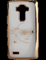 کاور نگین دار یونیک مدل چهره مخصوص گوشی ال جی G4