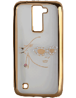 کاور نگین دار یونیک مدل چهره مخصوص گوشی ال جی K8