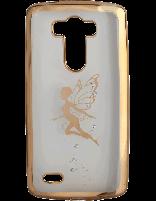 کاور نگین دار یونیک مدل پروانه مخصوص گوشی ال جی G3