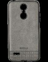 کاور چرمی ریمکس مخصوص گوشی ال جی K8 2017