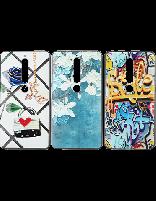 3 عدد کاور طرحدار مخصوص گوشی نوکیا 6.1