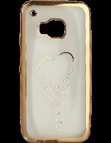 کاور نگین دار یونیک مدل قلب مخصوص گوشی اچ تی سی M9